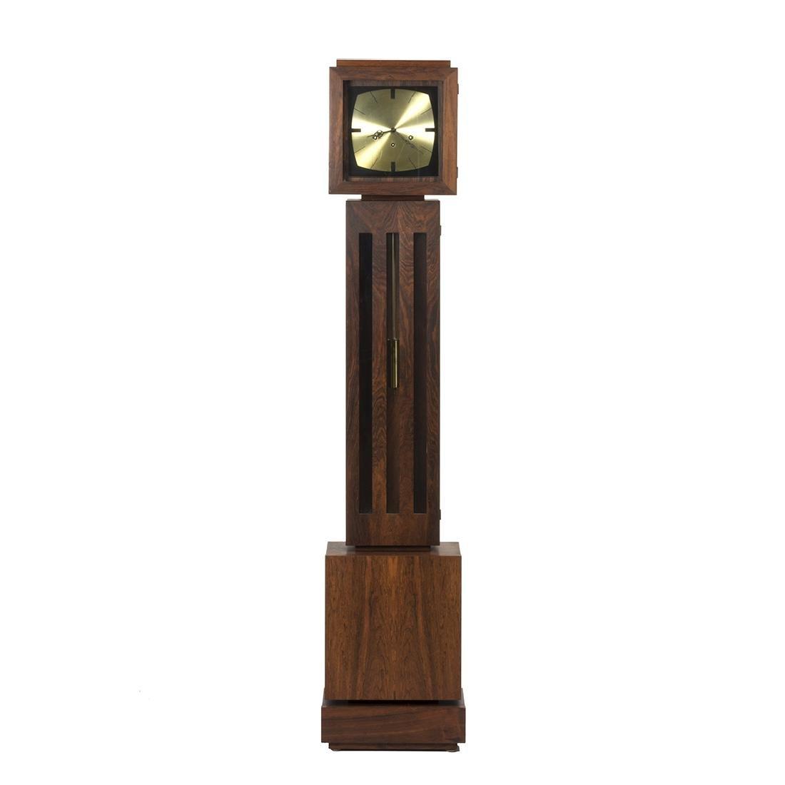 Rosewood Floor Standing Clock