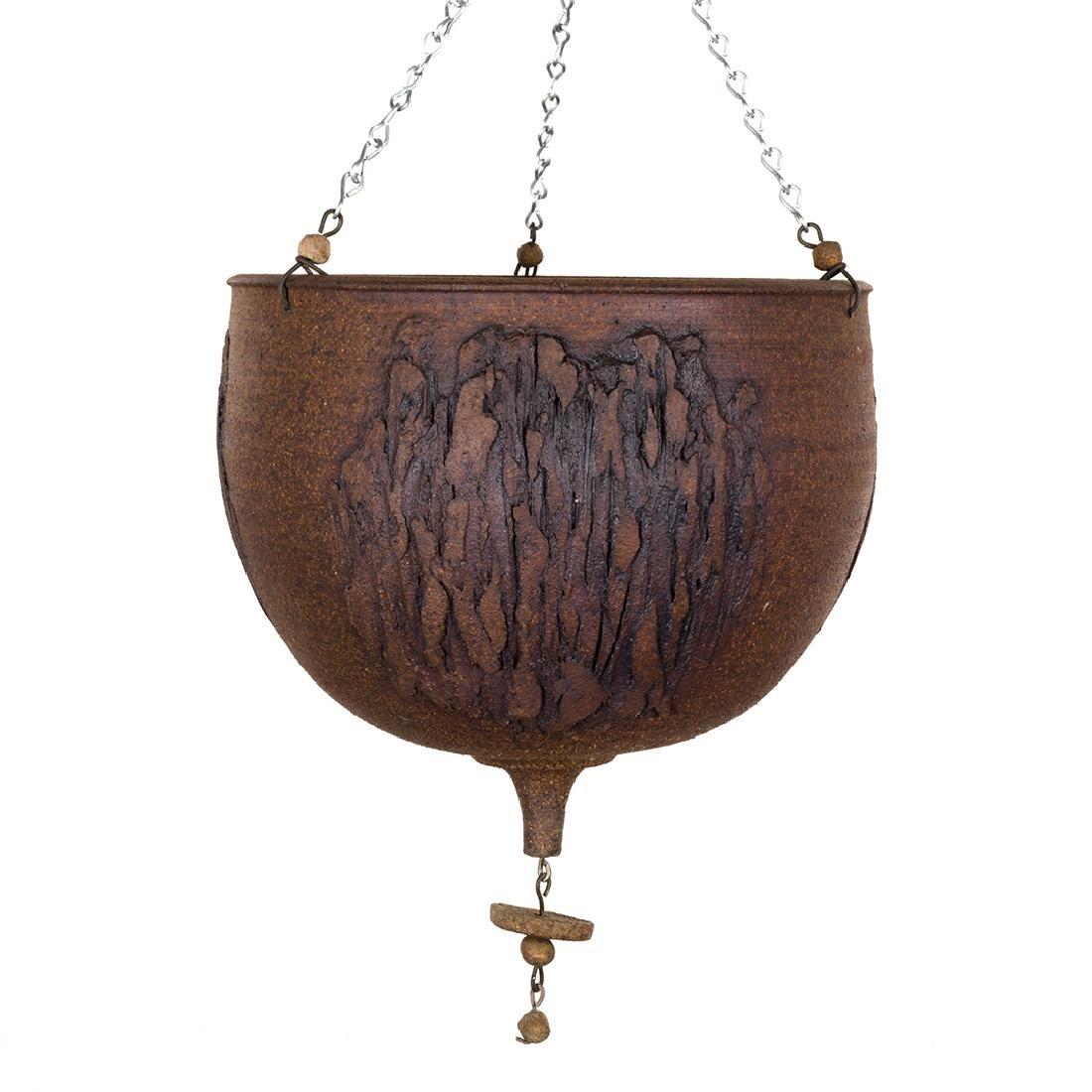 Stoneware Hanging Planter - 2