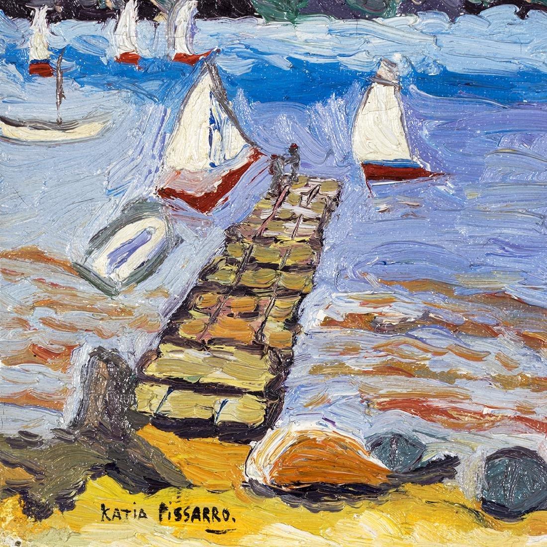 Katia Pissarro St. Halo Oil Painting - 2