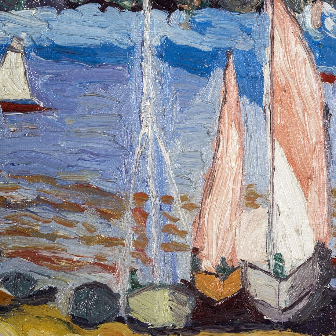 Katia Pissarro St. Halo Oil Painting - 3