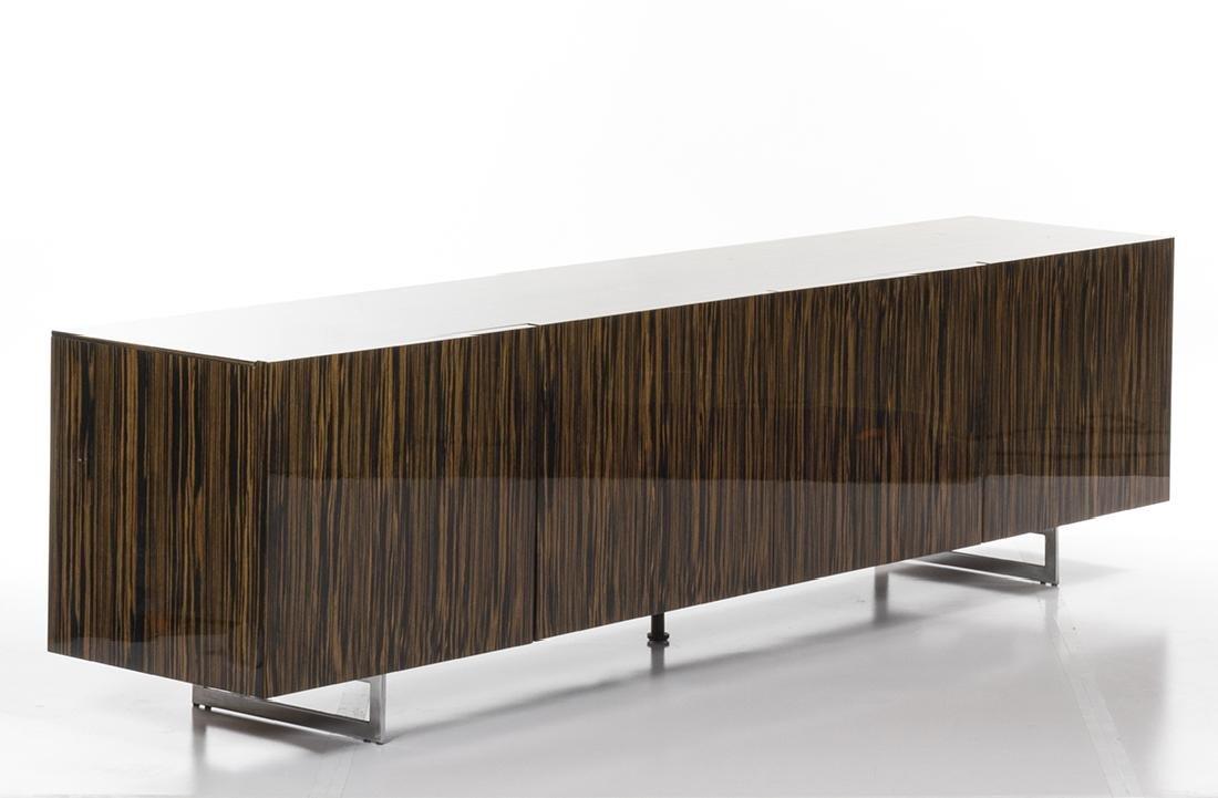 Zebra Wood Credenza - 2