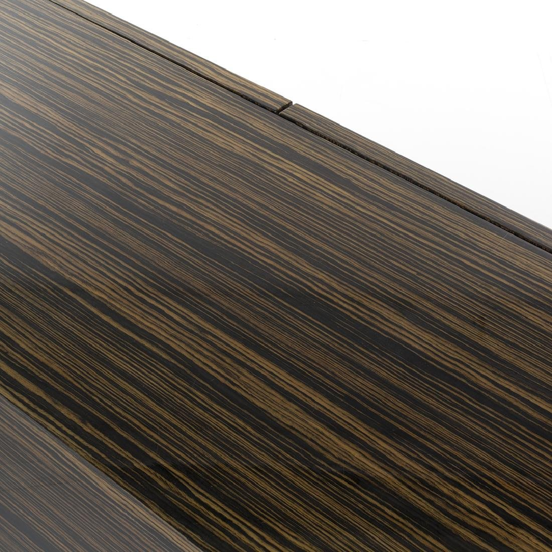 Zebra Wood Credenza - 5