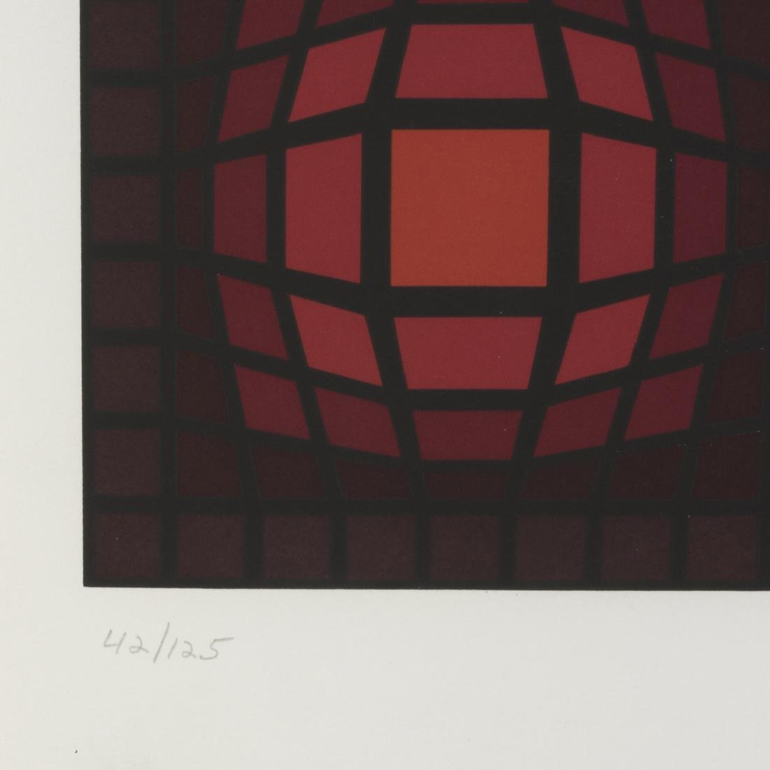 Victor Vasarely Serigraph - 3