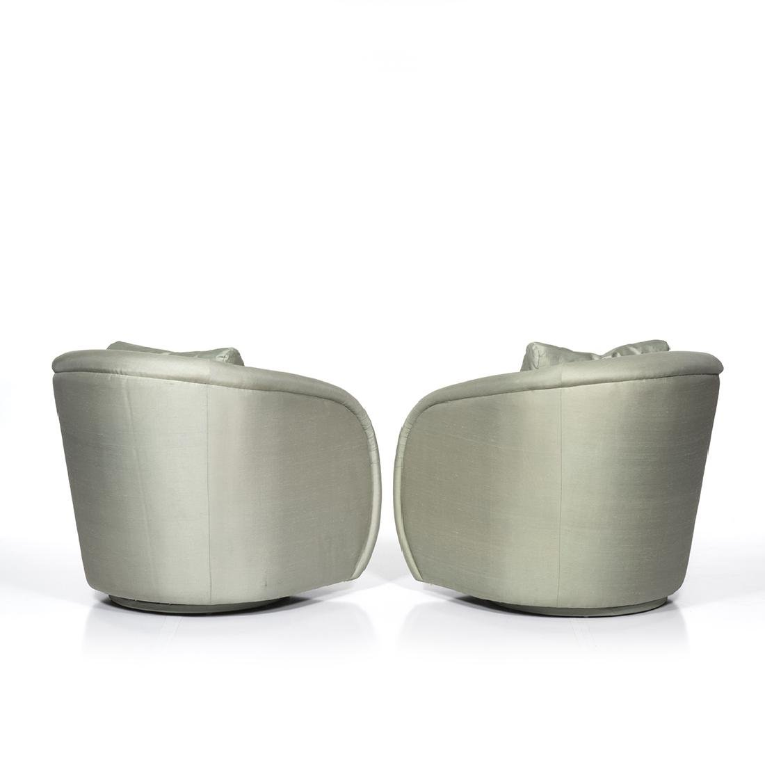 Silk Lounge Chairs (2) - 2