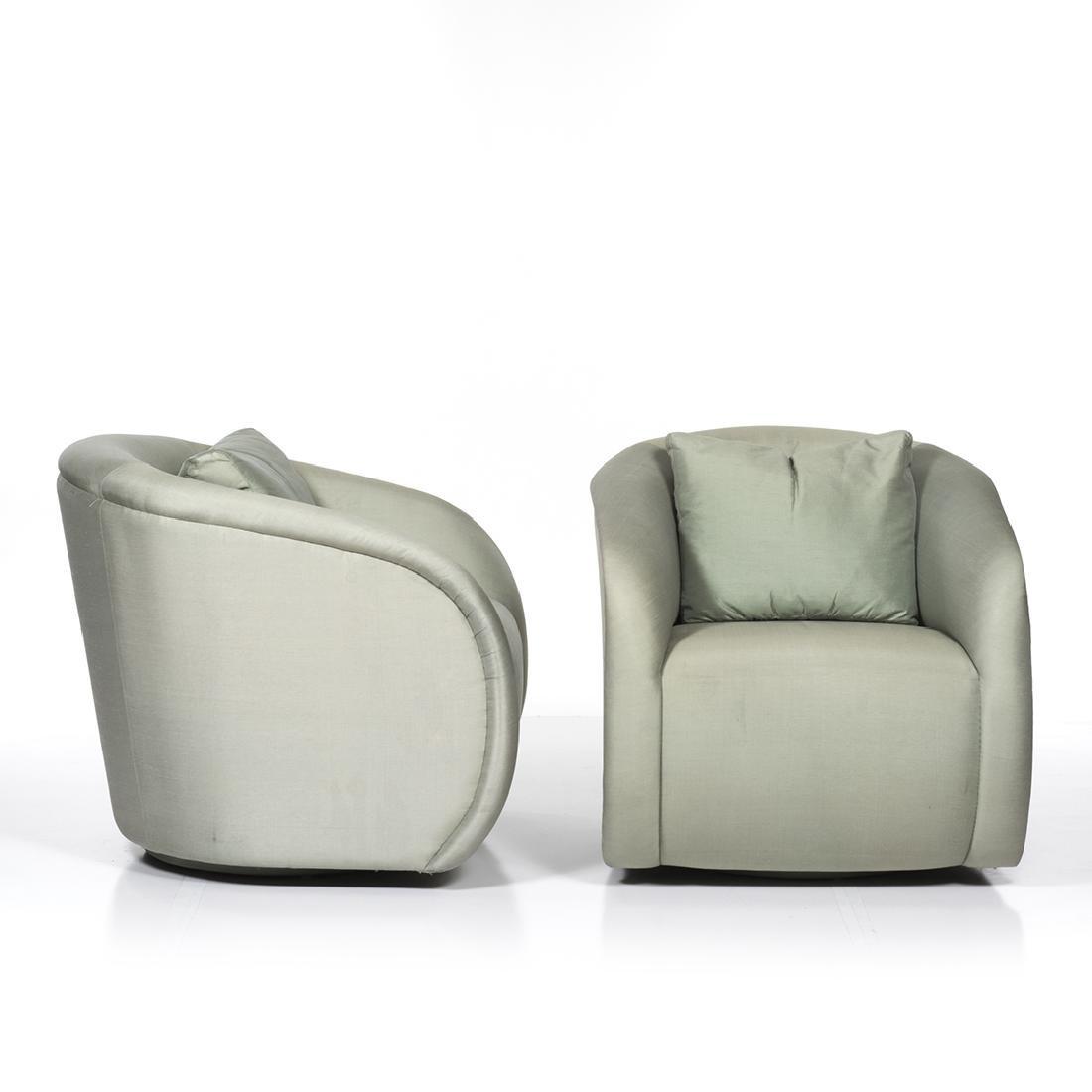 Silk Lounge Chairs (2) - 3