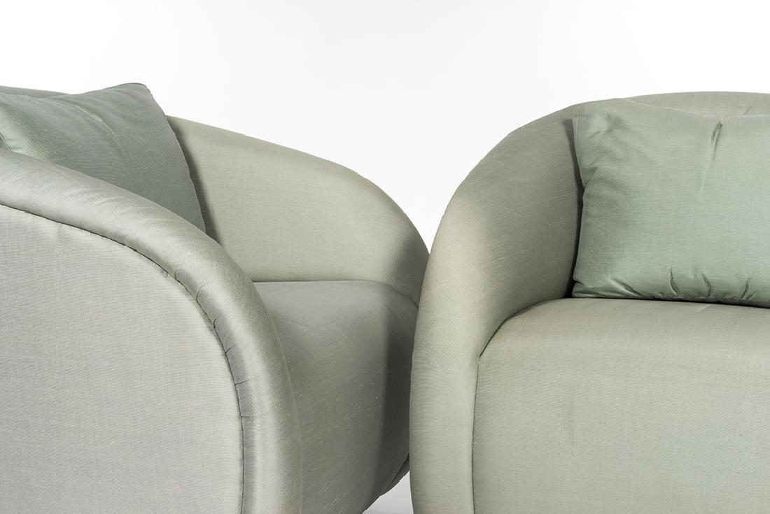 Silk Lounge Chairs (2) - 5