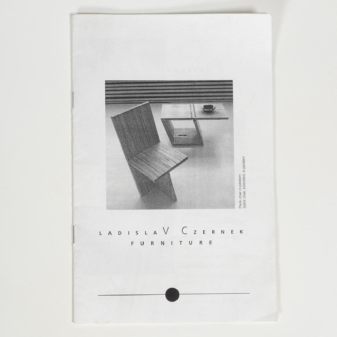 Ladislav Czernek Prototype Plank Chair - 4