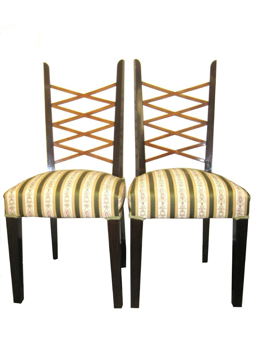 Paolo Buffa Attributed Chairs (2)