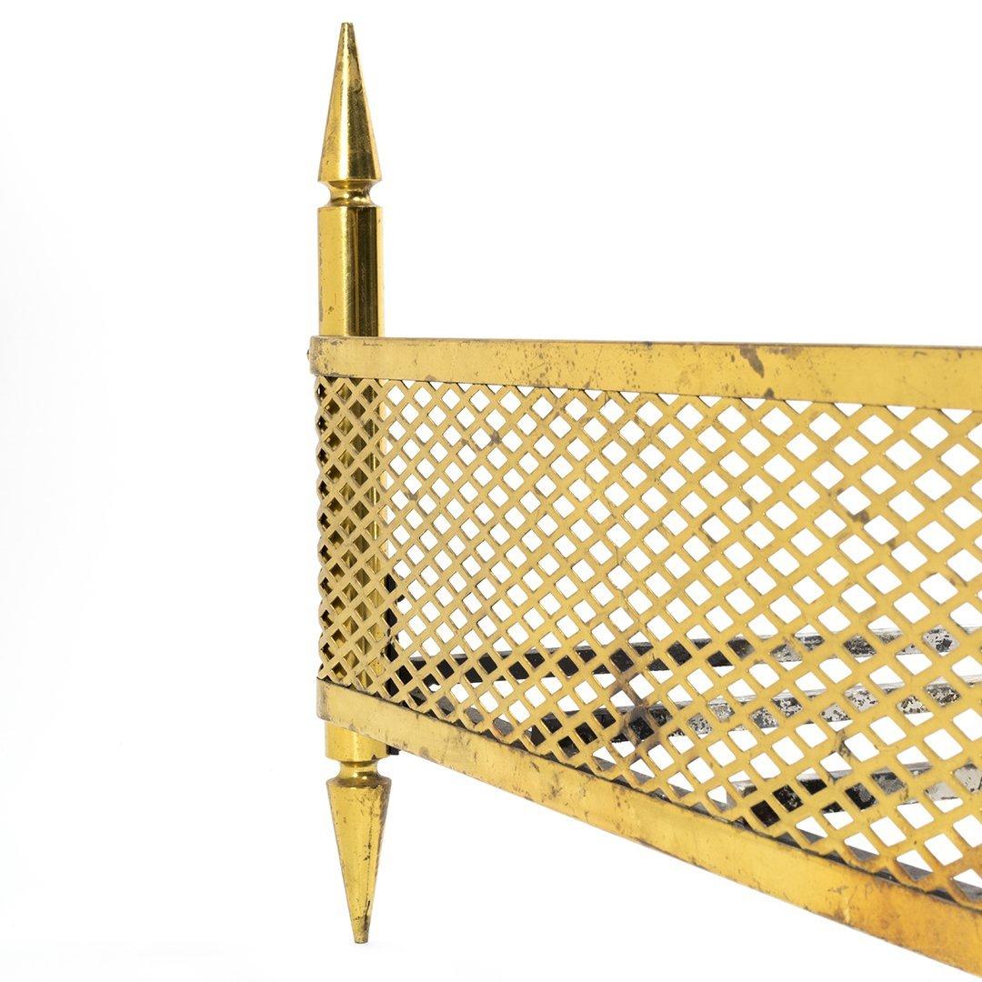 Stilnovo Brass Log Holder - 4