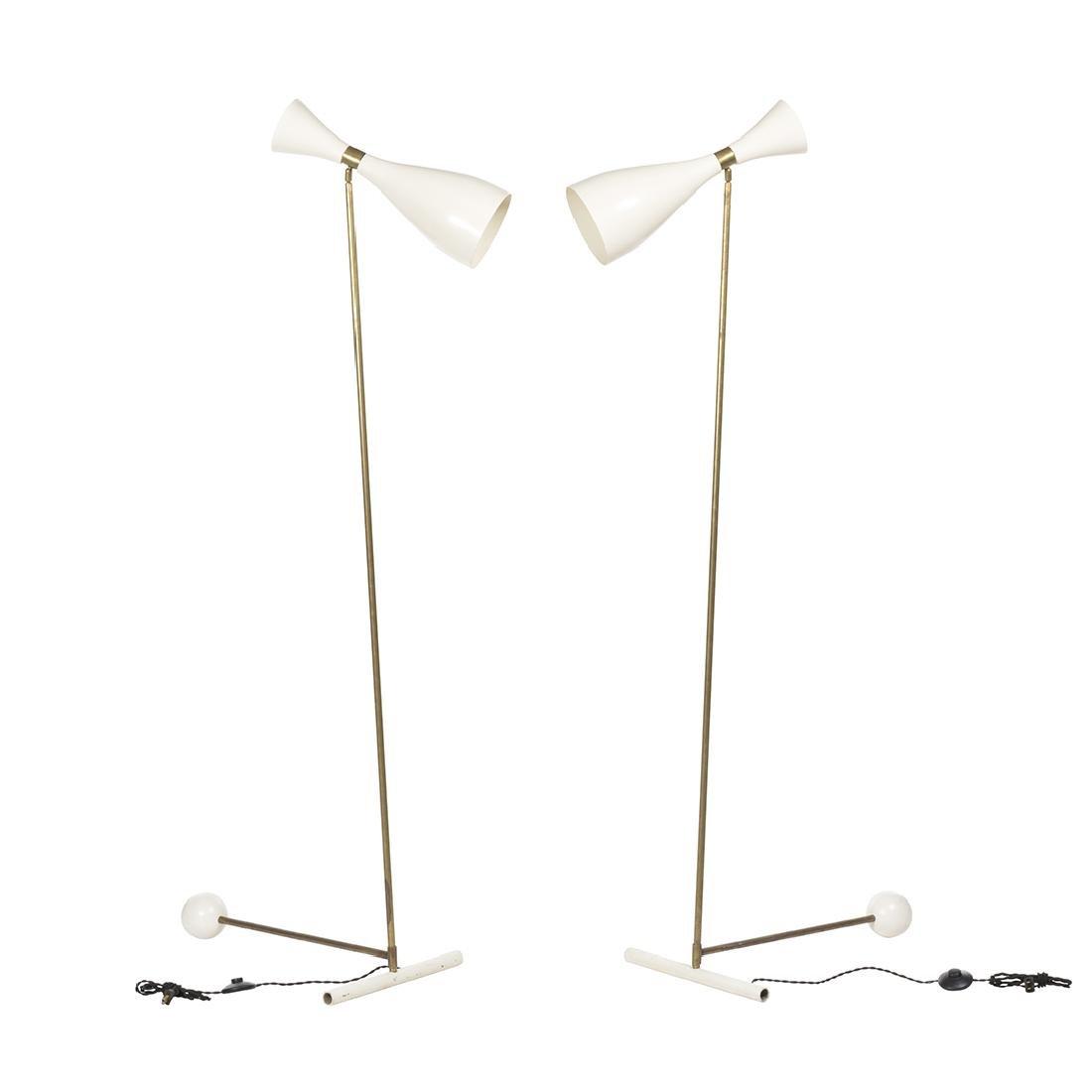 Italian Adjustable Floor Lamps (2)