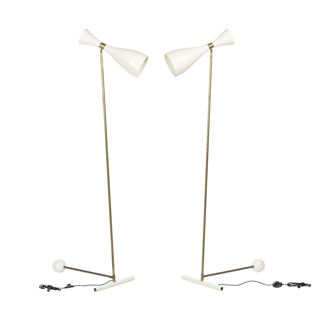 Italian Adjustable Floor Lamps (2)
