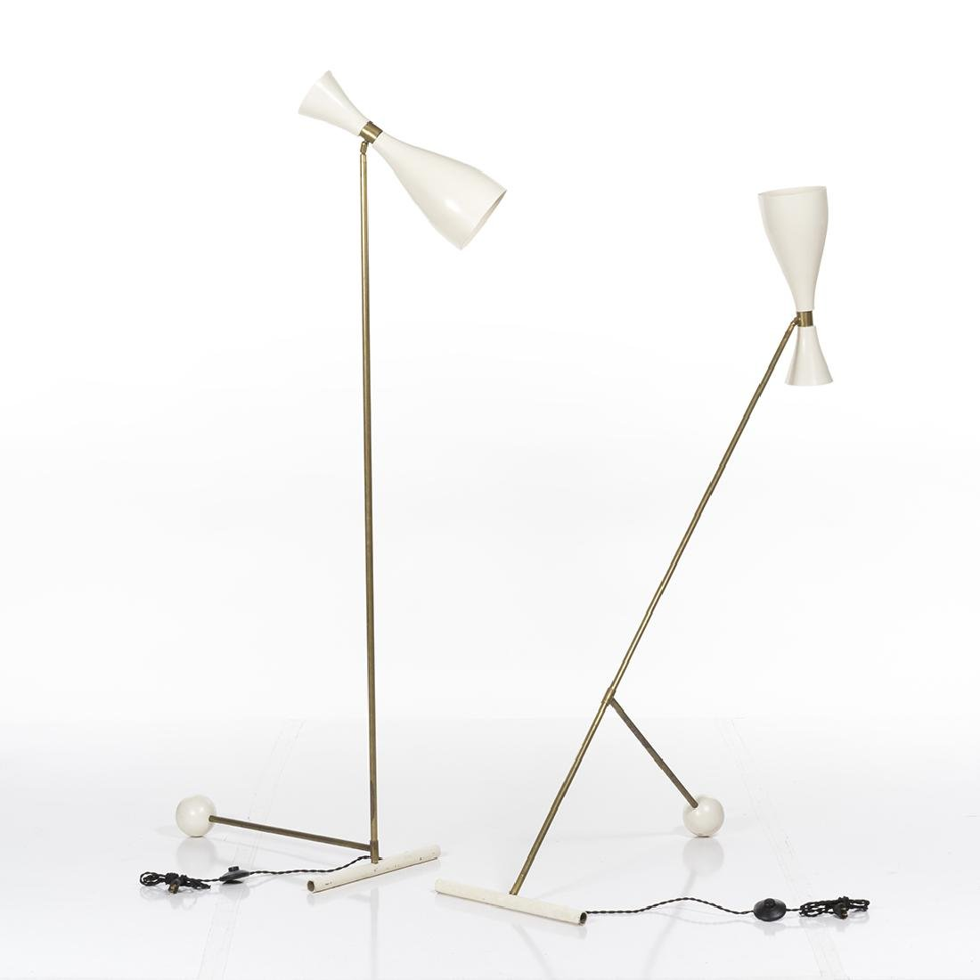 Italian Adjustable Floor Lamps (2) - 2