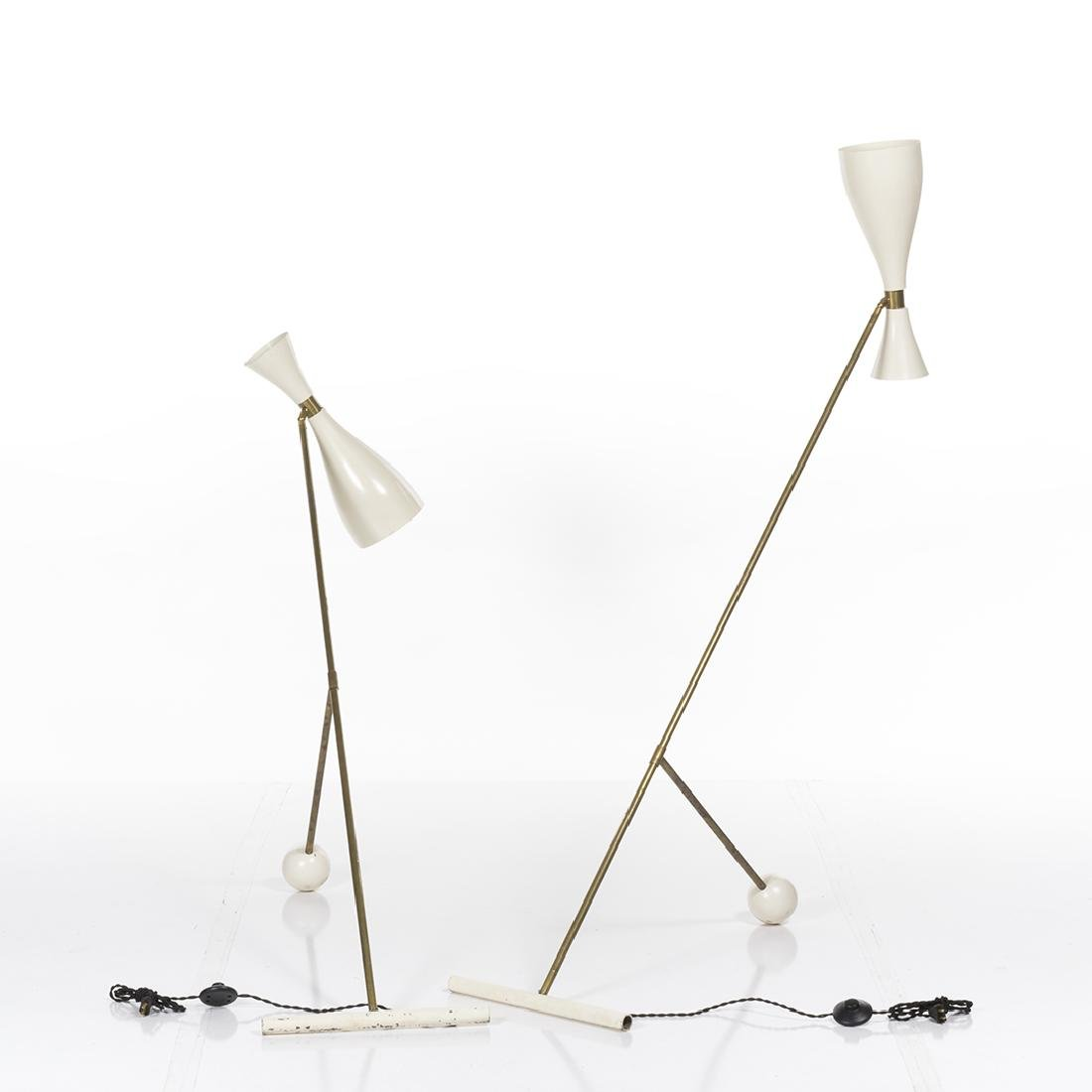 Italian Adjustable Floor Lamps (2) - 3