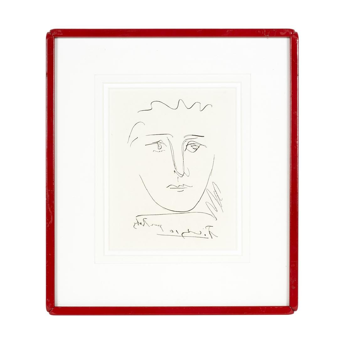 Pablo Picasso Pour Roby Etching