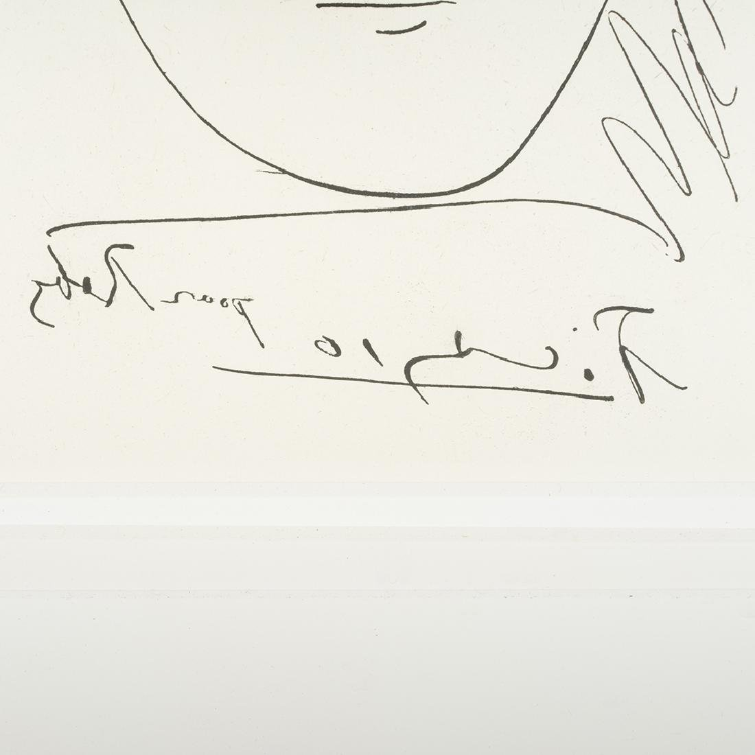 Pablo Picasso Pour Roby Etching - 2