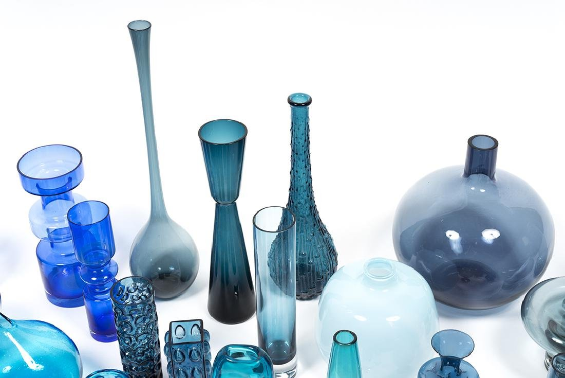 Modernist Blue Glass (32) - 10