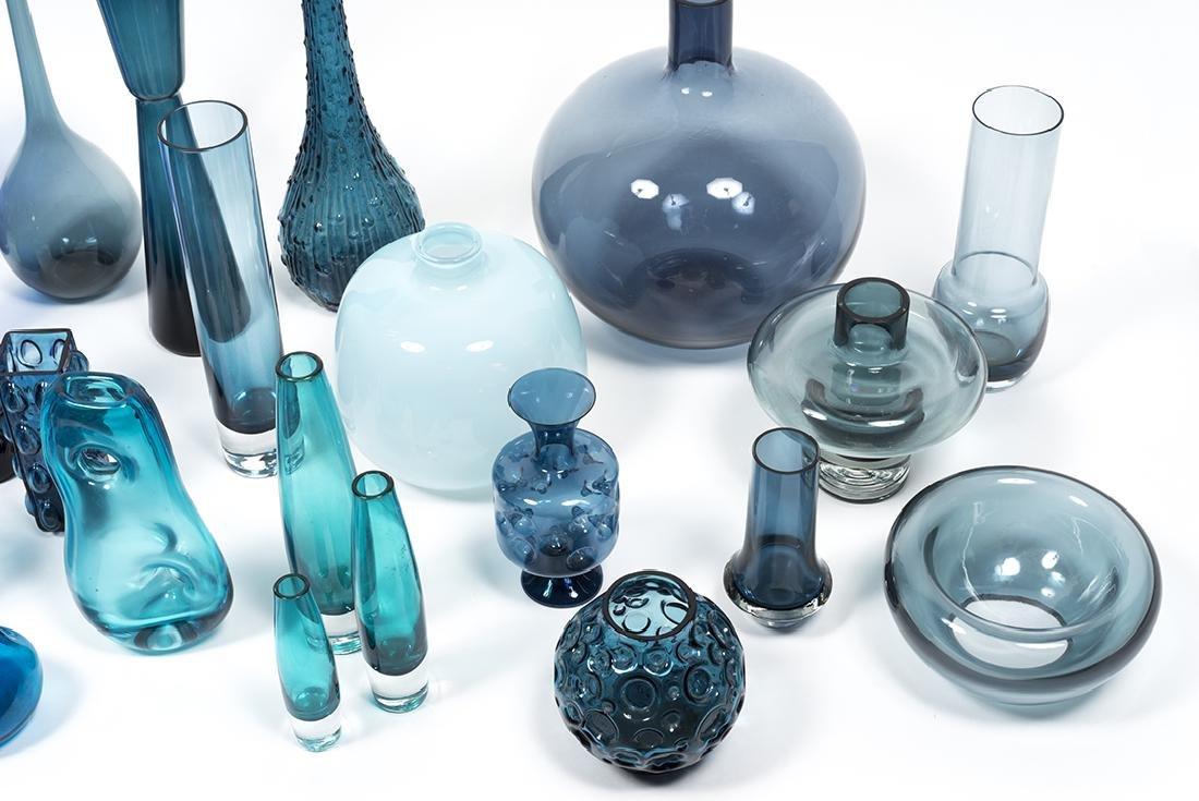 Modernist Blue Glass (32) - 11