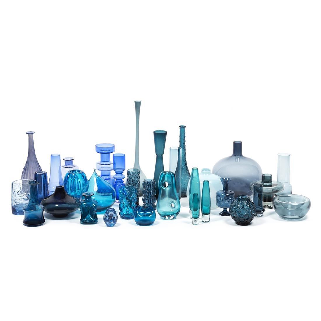 Modernist Blue Glass (32)