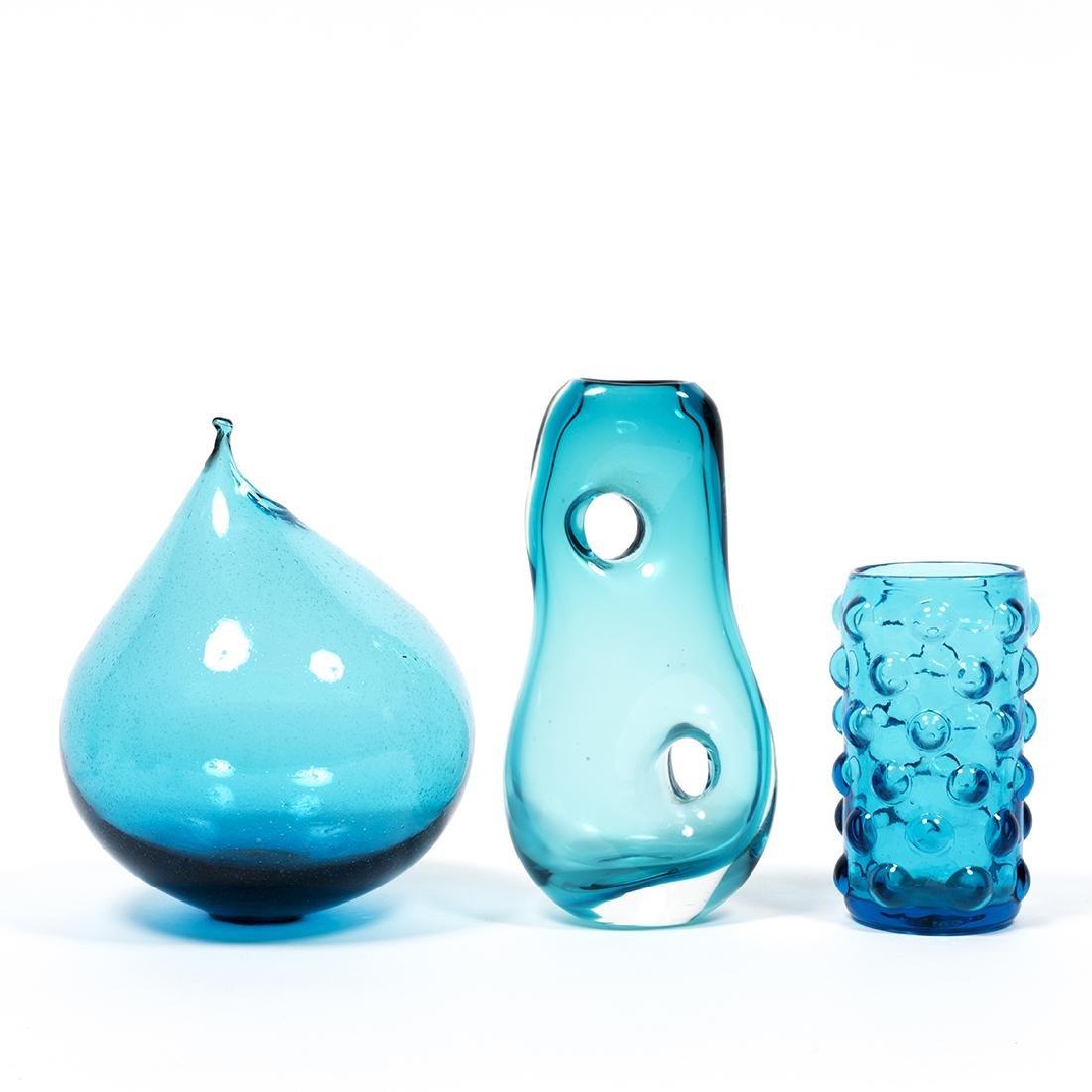 Modernist Blue Glass (32) - 4