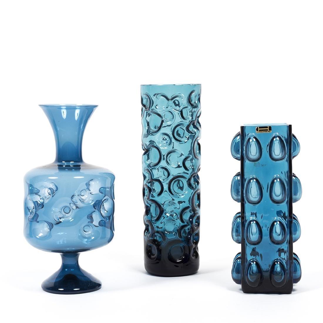 Modernist Blue Glass (32) - 5