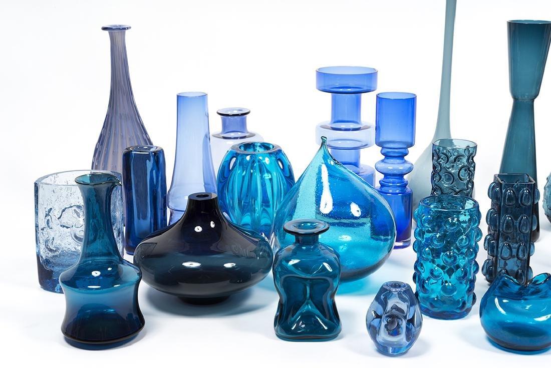 Modernist Blue Glass (32) - 6