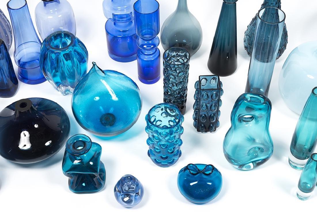 Modernist Blue Glass (32) - 8