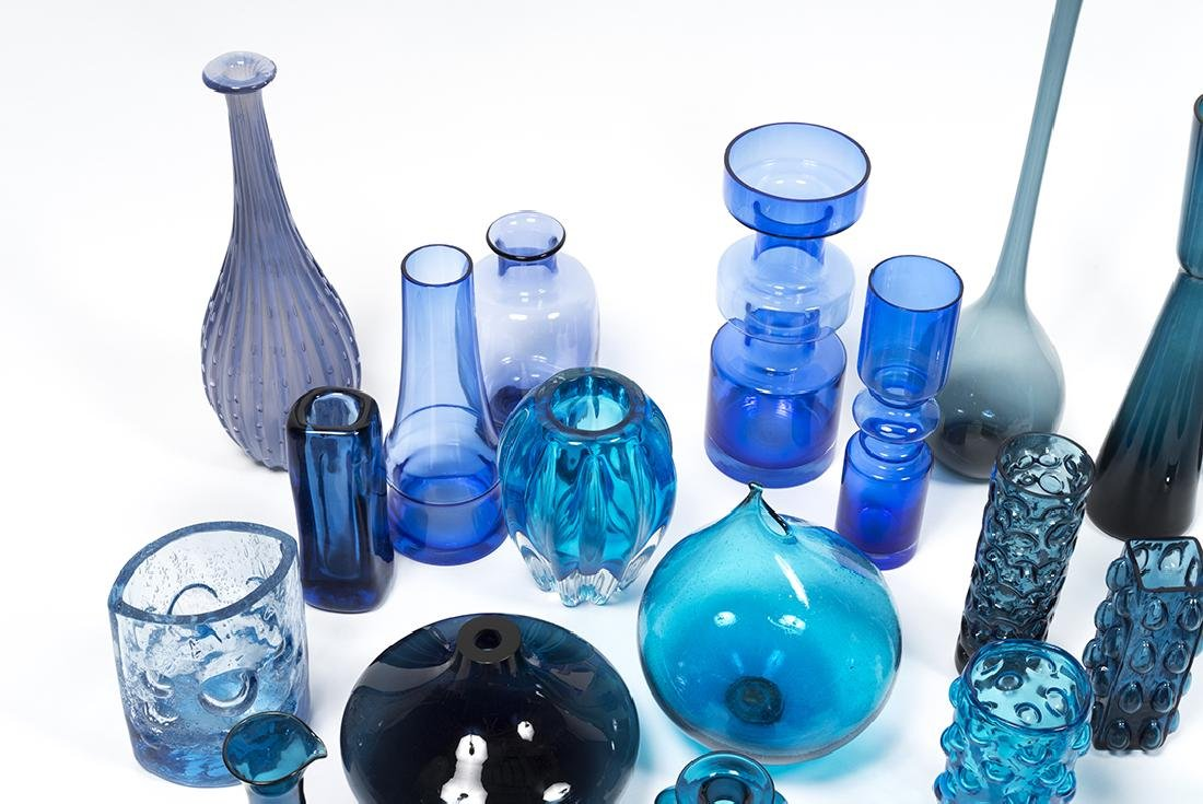 Modernist Blue Glass (32) - 9