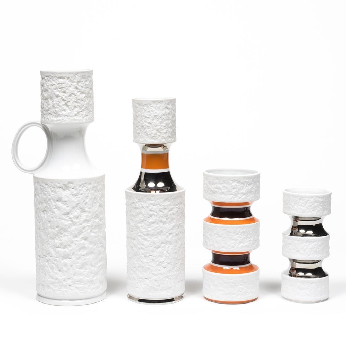 KPM Bisque Vases - 2
