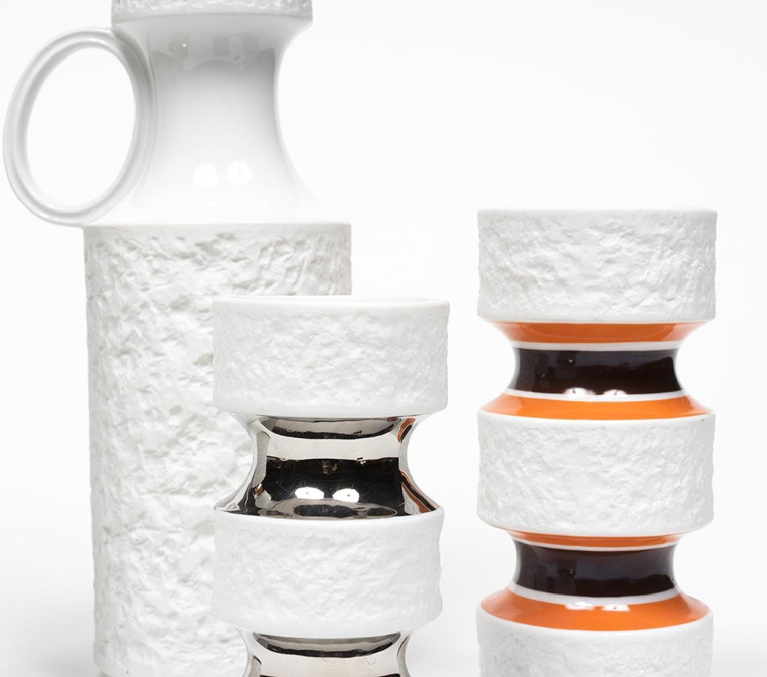 KPM Bisque Vases - 4