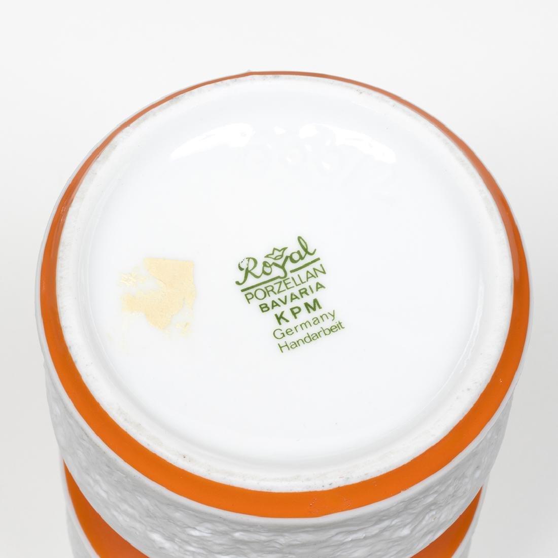 KPM Bisque Vases - 6
