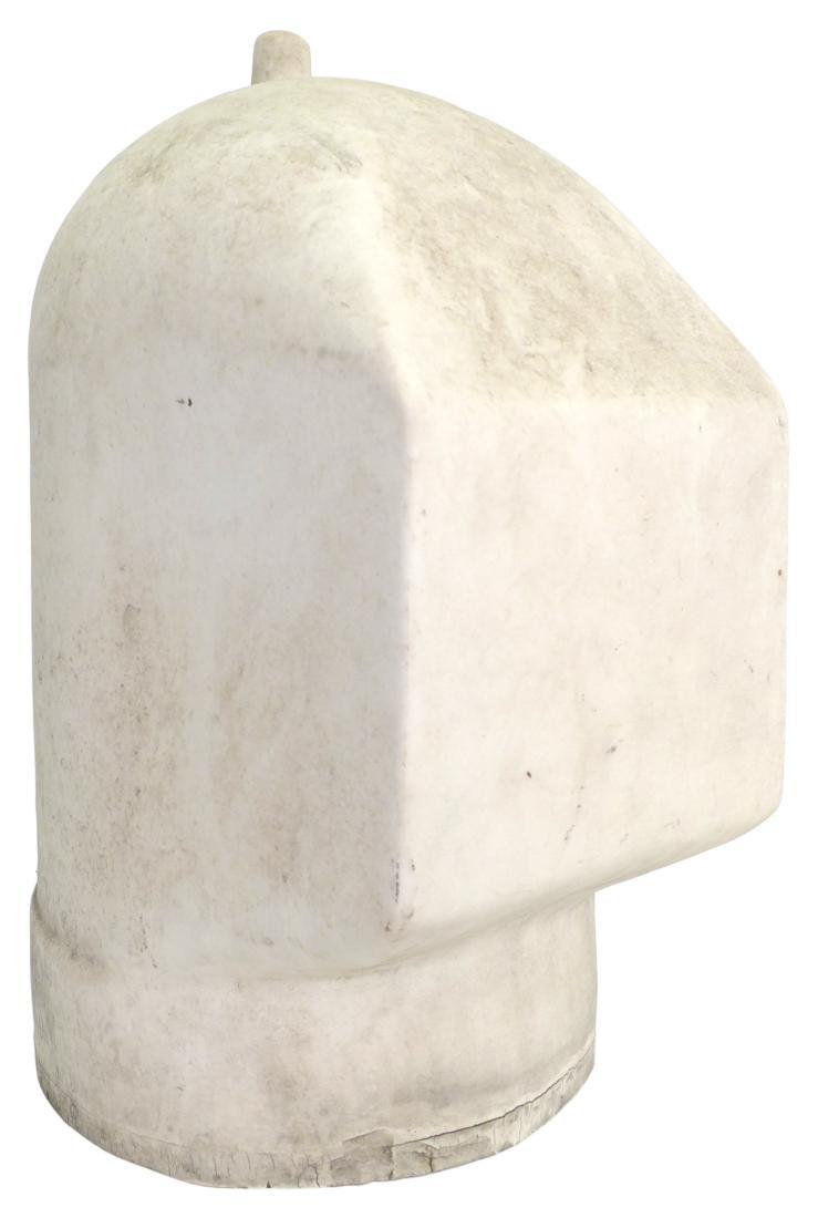 Porcelain Welder's Helmet Mold