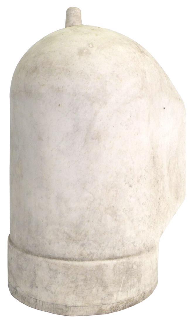 Porcelain Welder's Helmet Mold - 4