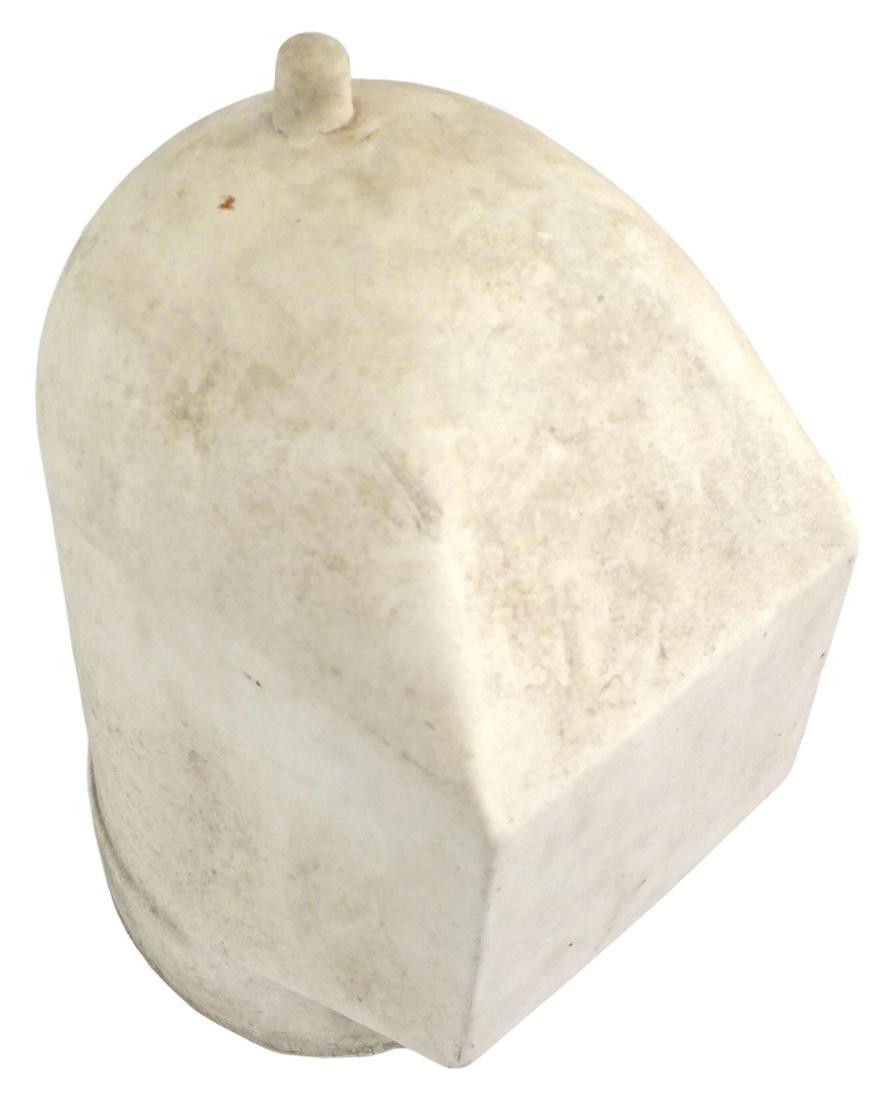 Porcelain Welder's Helmet Mold - 7