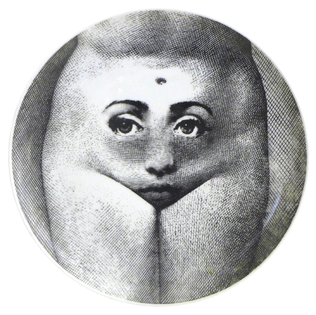 Piero Fornasetti Tema e Variazioni Plate