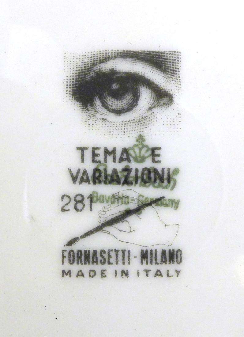 Piero Fornasetti Tema e Variazioni Plate - 2