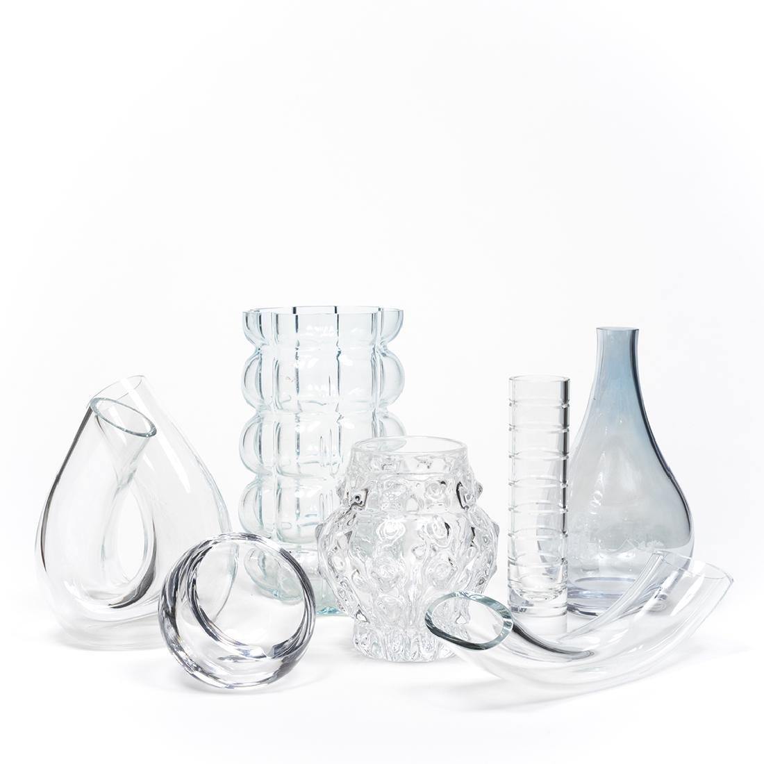 Modernist Clear Glass (8)