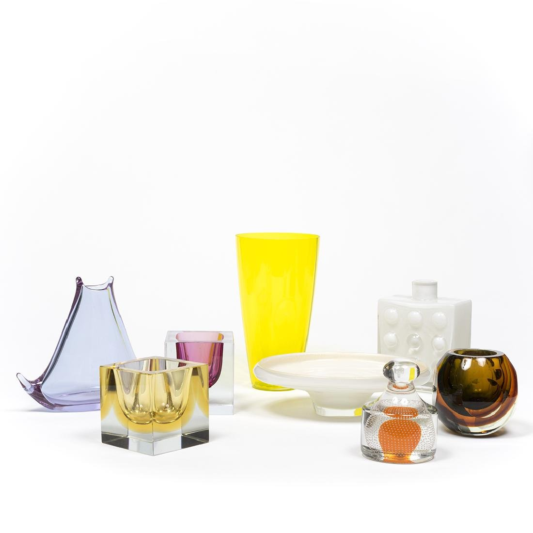 Murano Glass Objects (8)