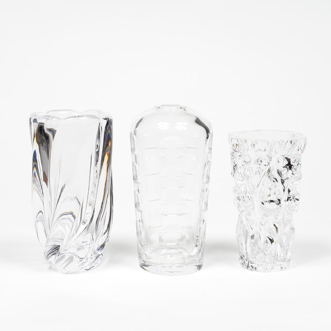 Orrefors Vases (3)