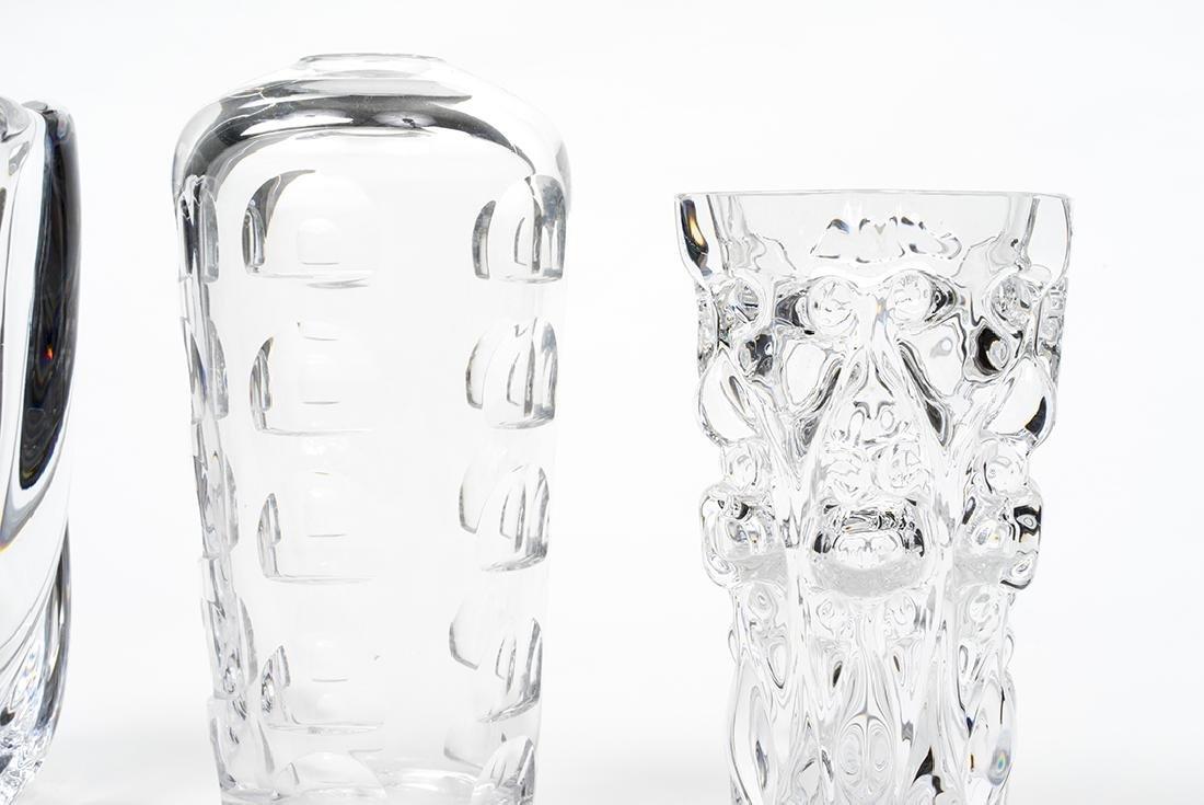 Orrefors Vases (3) - 2