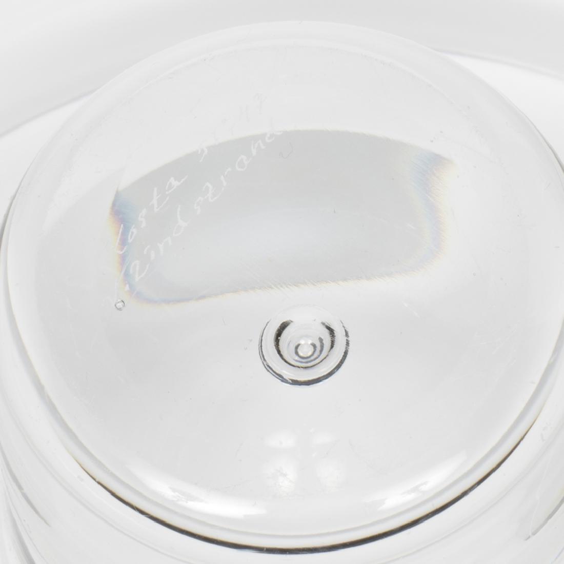 Vicke Lindstrand Glass Bowl - 2