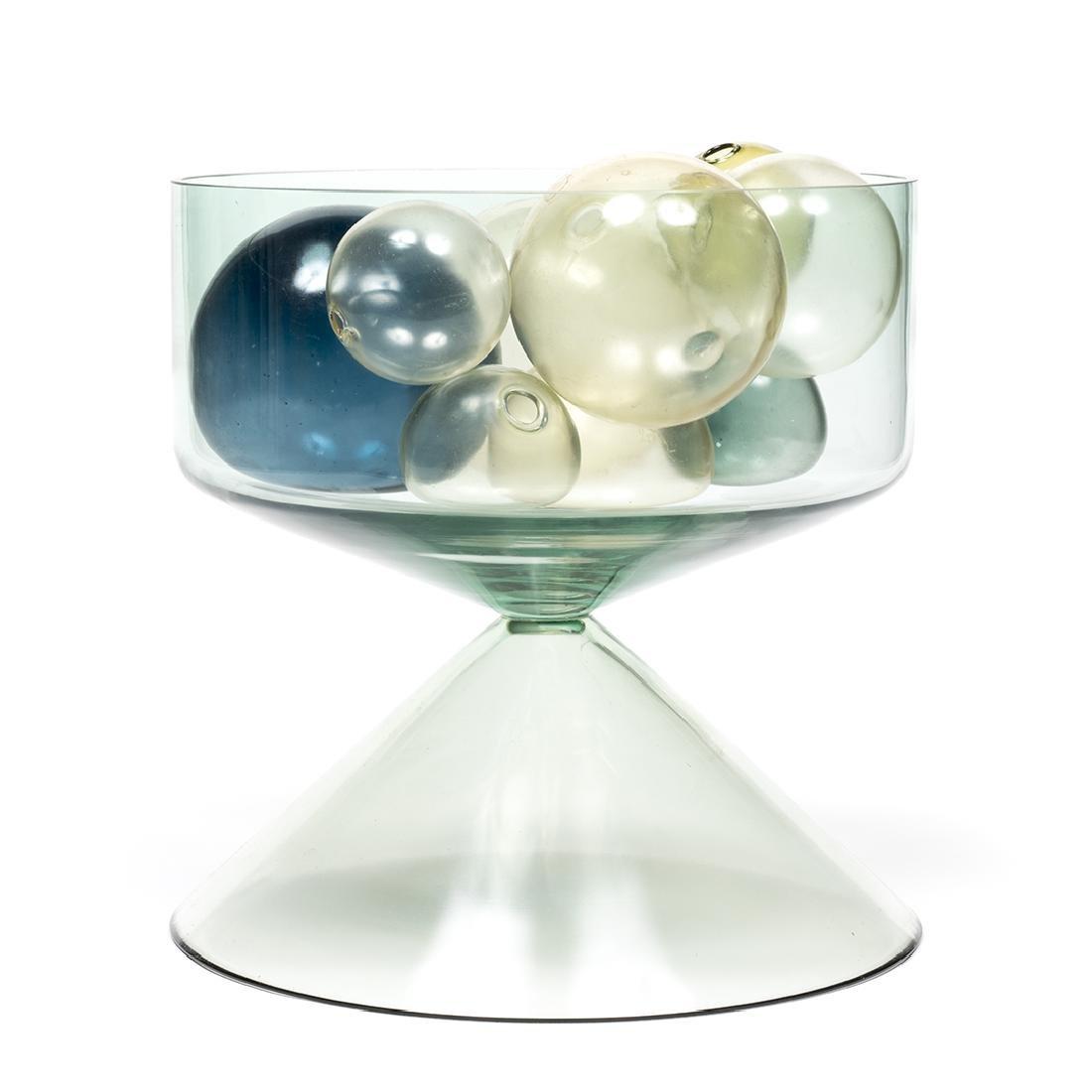 Timo Sarpaneva Style Vase With Glass Balls - 2