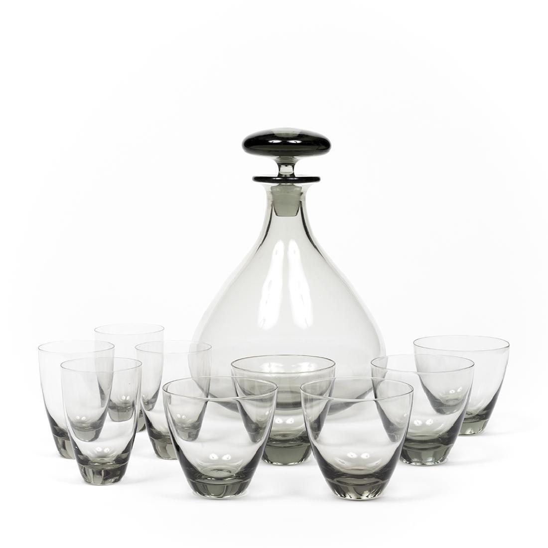 Per Lutken Bottle and Glasses (12)