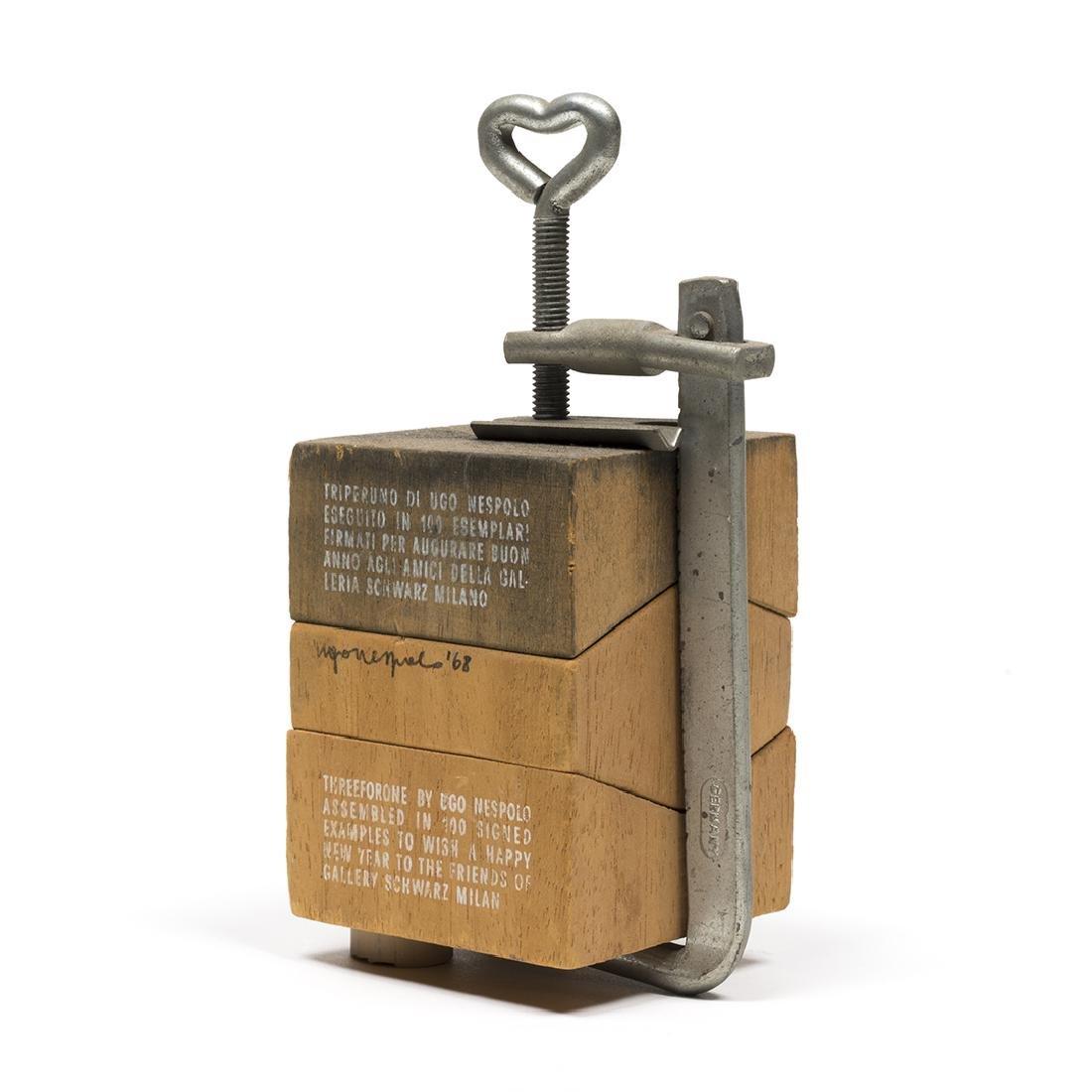 Ugo Nespolo Sculpture - 2