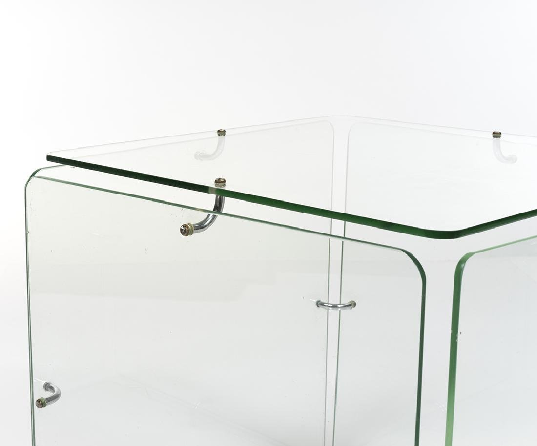 Gerald McCabe Glass Cube Table - 2