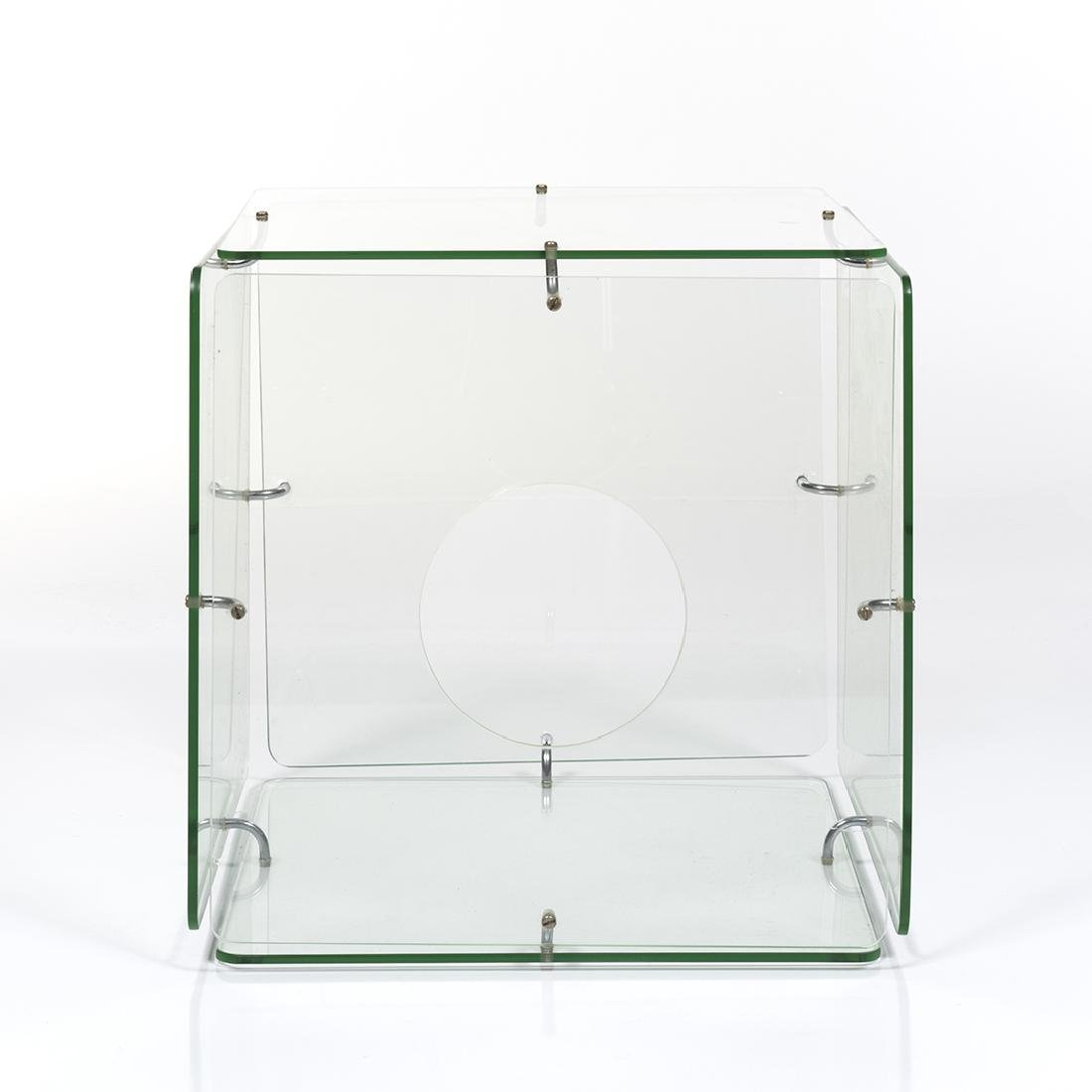 Gerald McCabe Glass Cube Table - 3