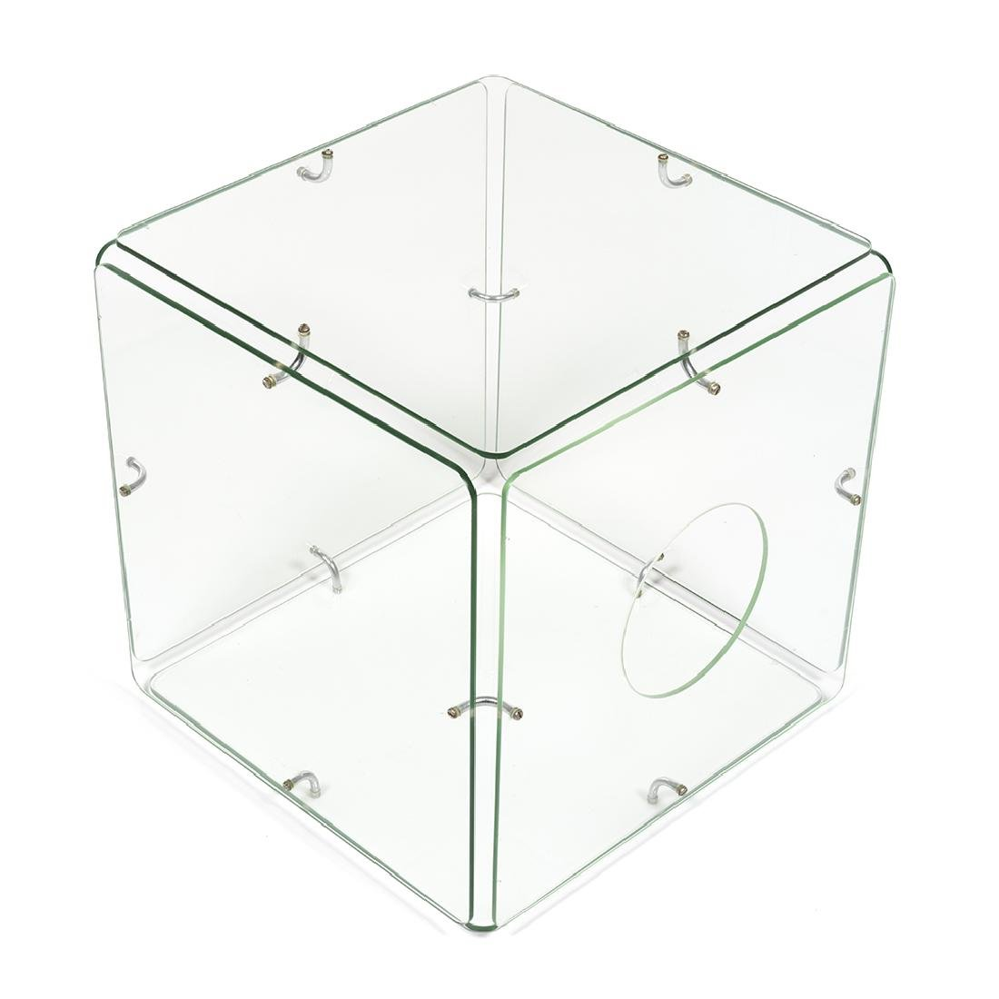 Gerald McCabe Glass Cube Table - 4