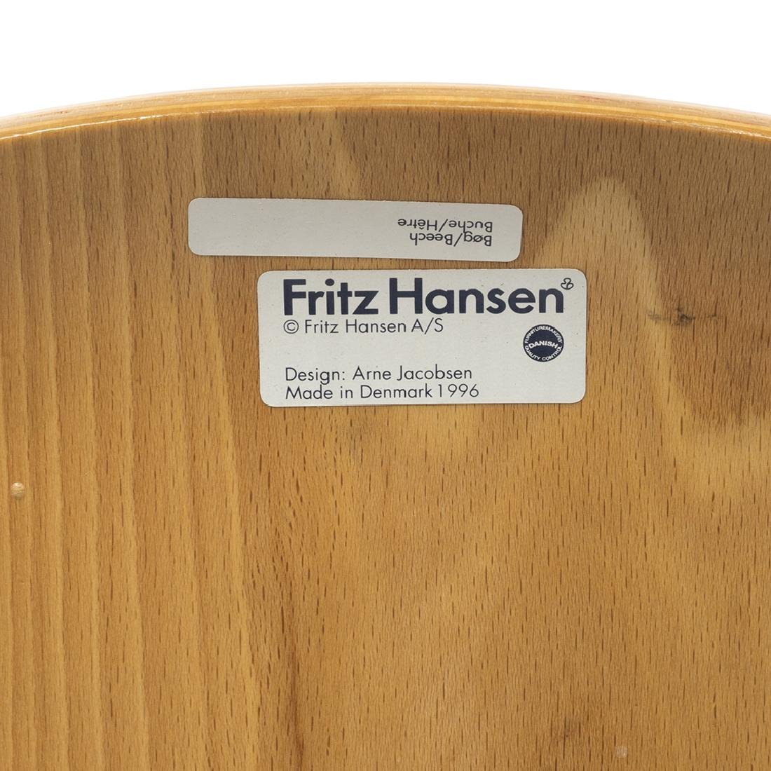 Arne Jacobsen Series 7 Chair - 6
