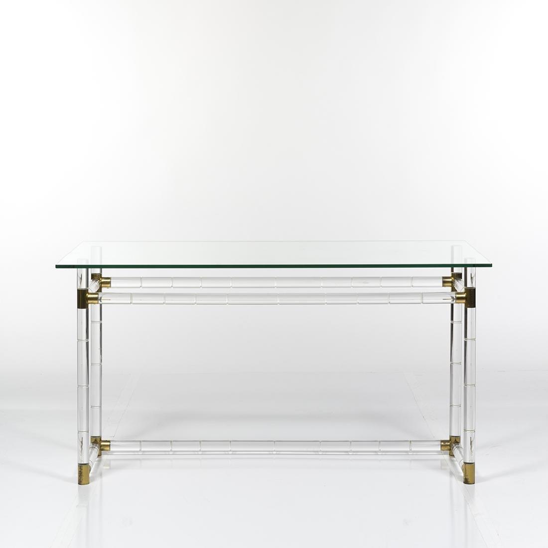 Charles Hollis Jones Bamboo Desk/Console - 2