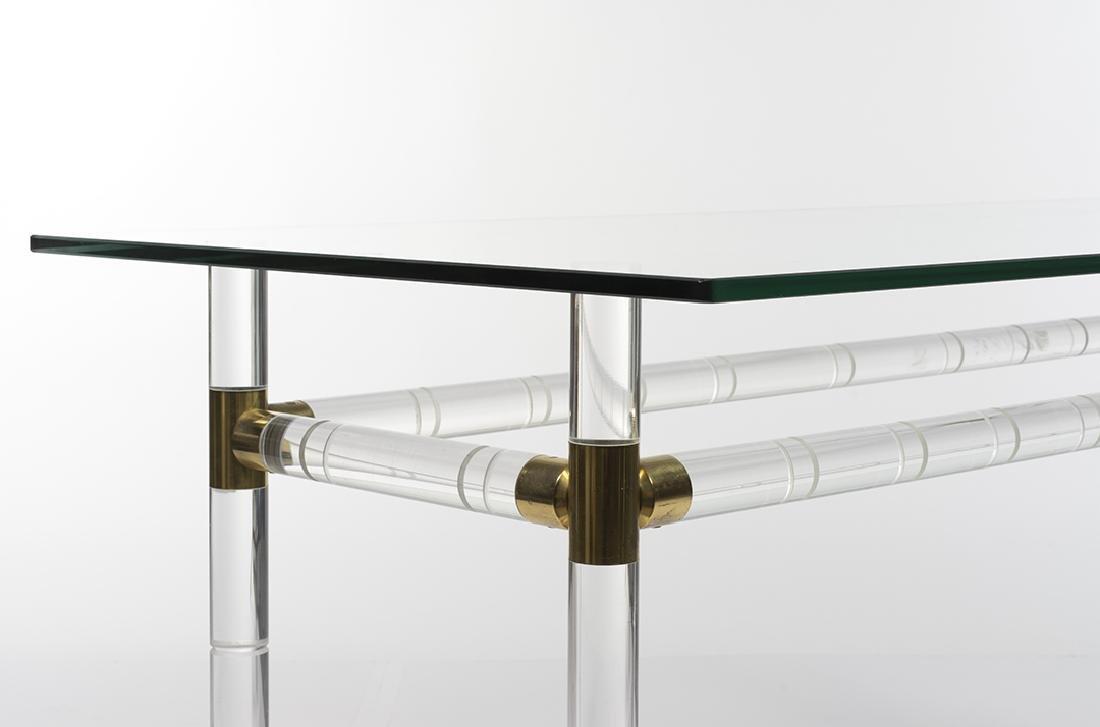 Charles Hollis Jones Bamboo Desk/Console - 3