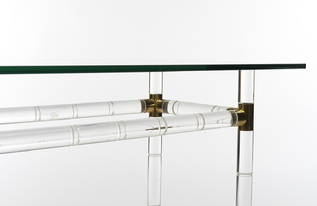 Charles Hollis Jones Bamboo Desk/Console - 4